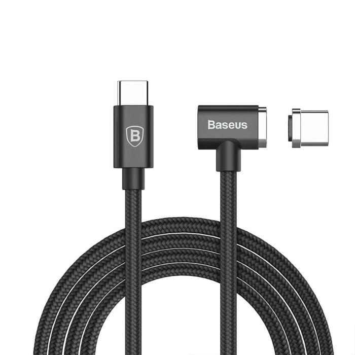 Image of   Baseus magnetisk USB-C til USB-C kabel 15 m - Sort