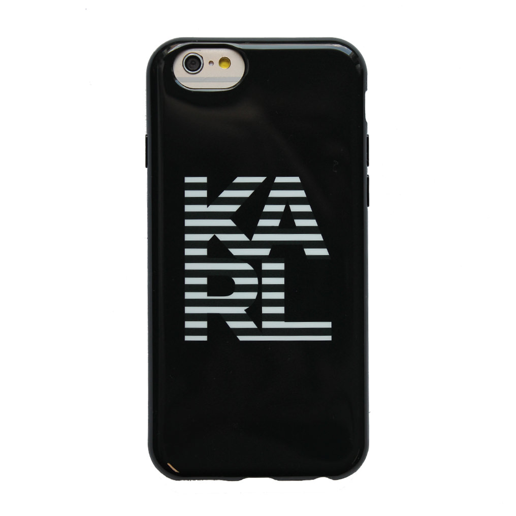 Billede af Karl Lagerfeld - Mythic Collection- Hard Cover/ Case - Apple iPhone 6 > Black/ White