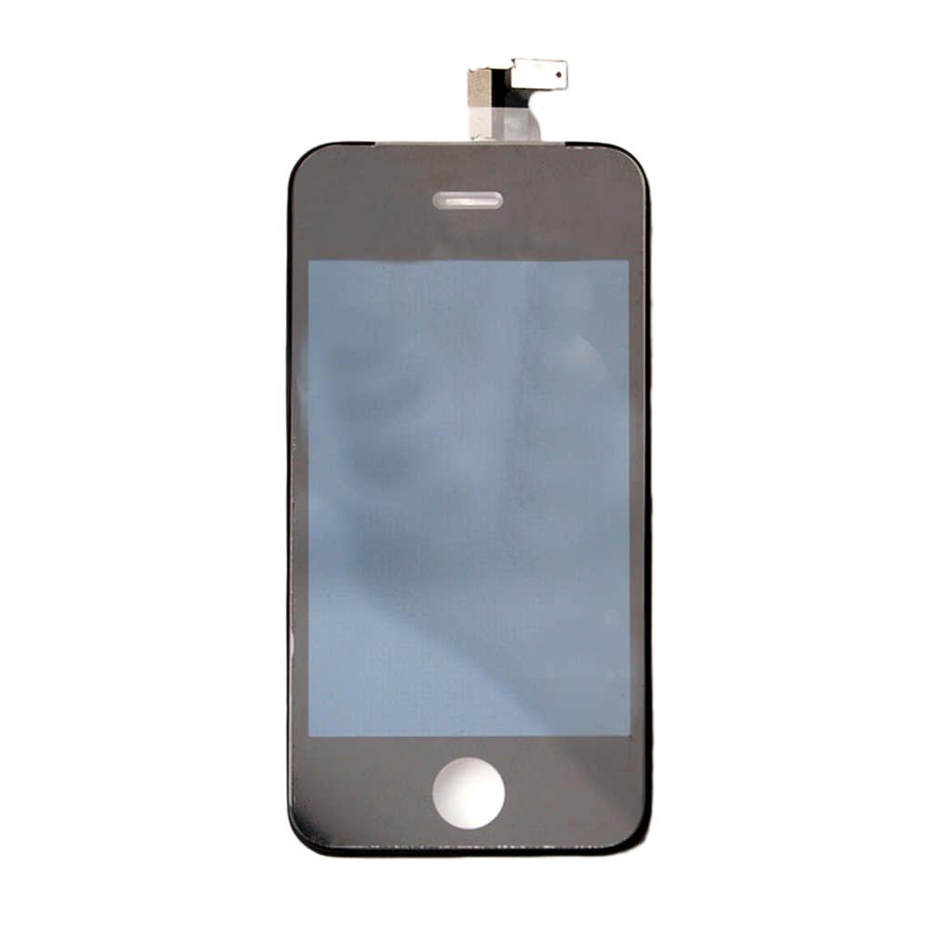 Billede af Spare Part - LCD Display + Touch Full Set - Apple iPhone 4 - Black