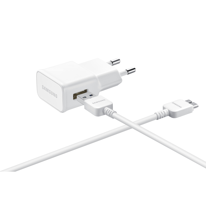 Billede af Samsung EP-TA10EWEQGWW MicroUSB 21Pin Rejseoplader USB 3.0 Fast Charge 2A (Tablet)