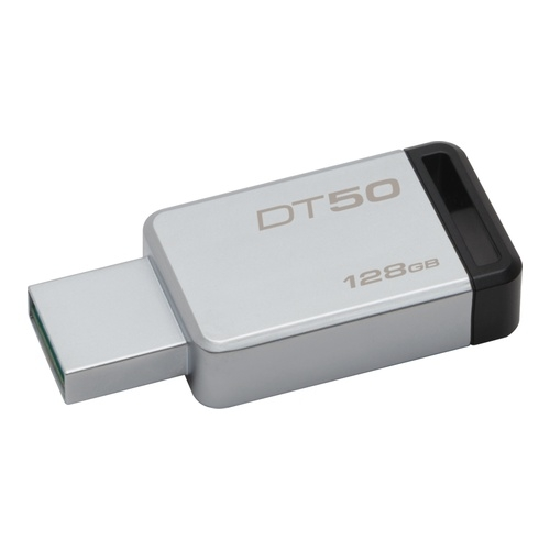 Image of   128GB USB 3.1/3.0 DataTraveler 50 (Metal Casing)