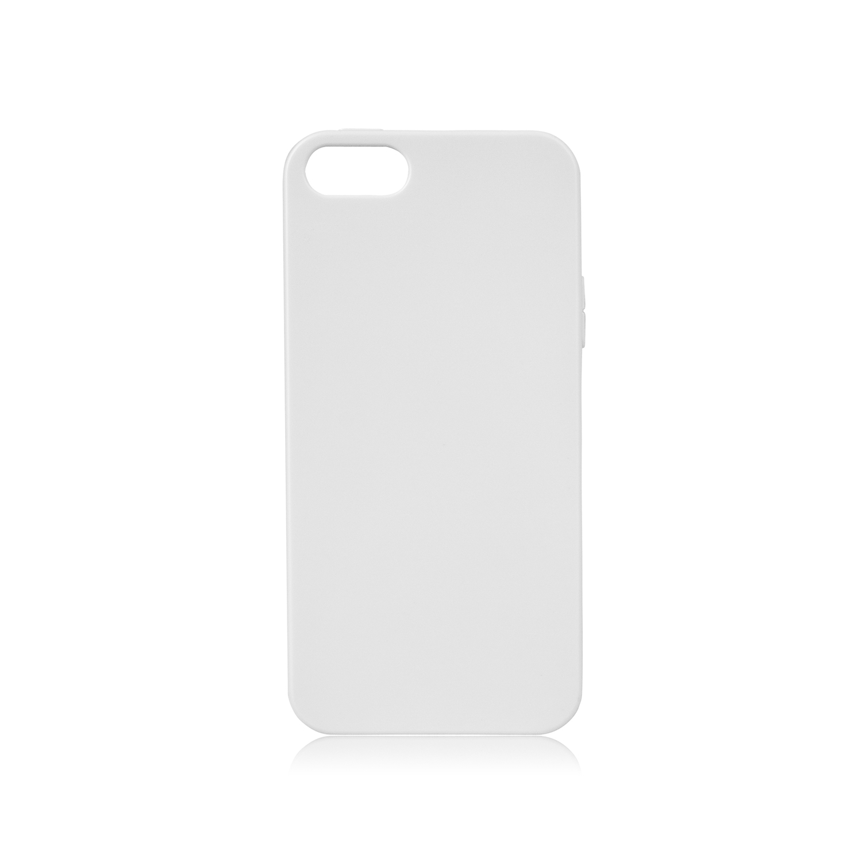 Billede af Xqisit Flex Silikone cover til iPhone 5/5S/SE Hvid