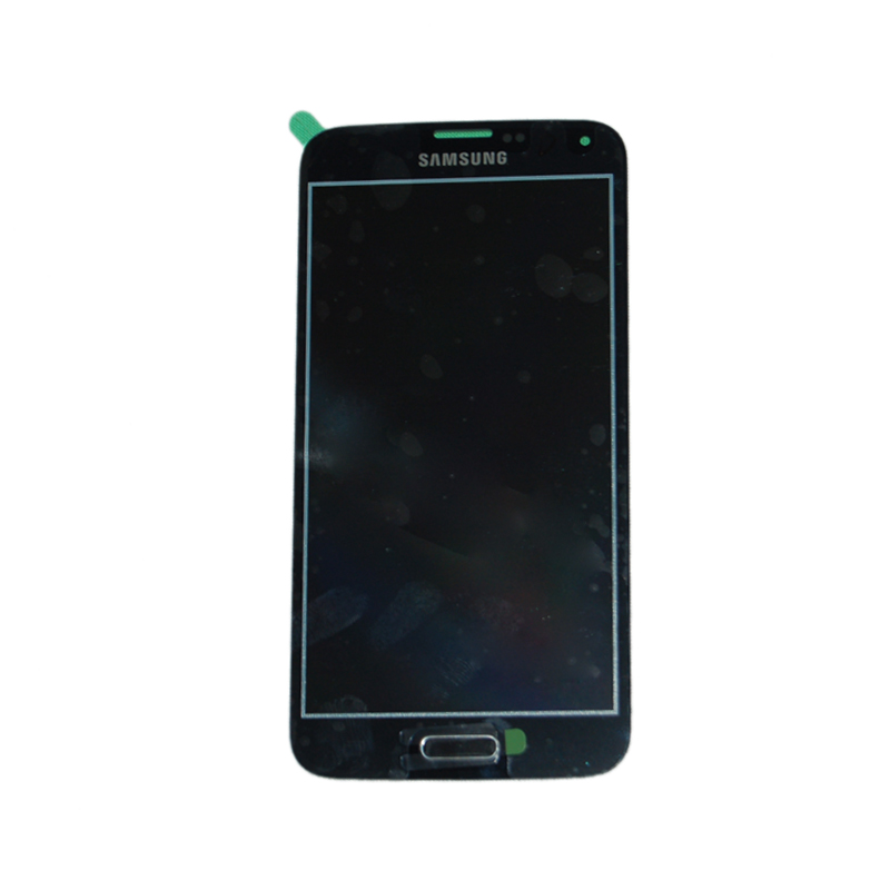 Billede af Original Spare Part Samsung - LCD Display + Touch Full Set - G900F Galaxy S5 - Black