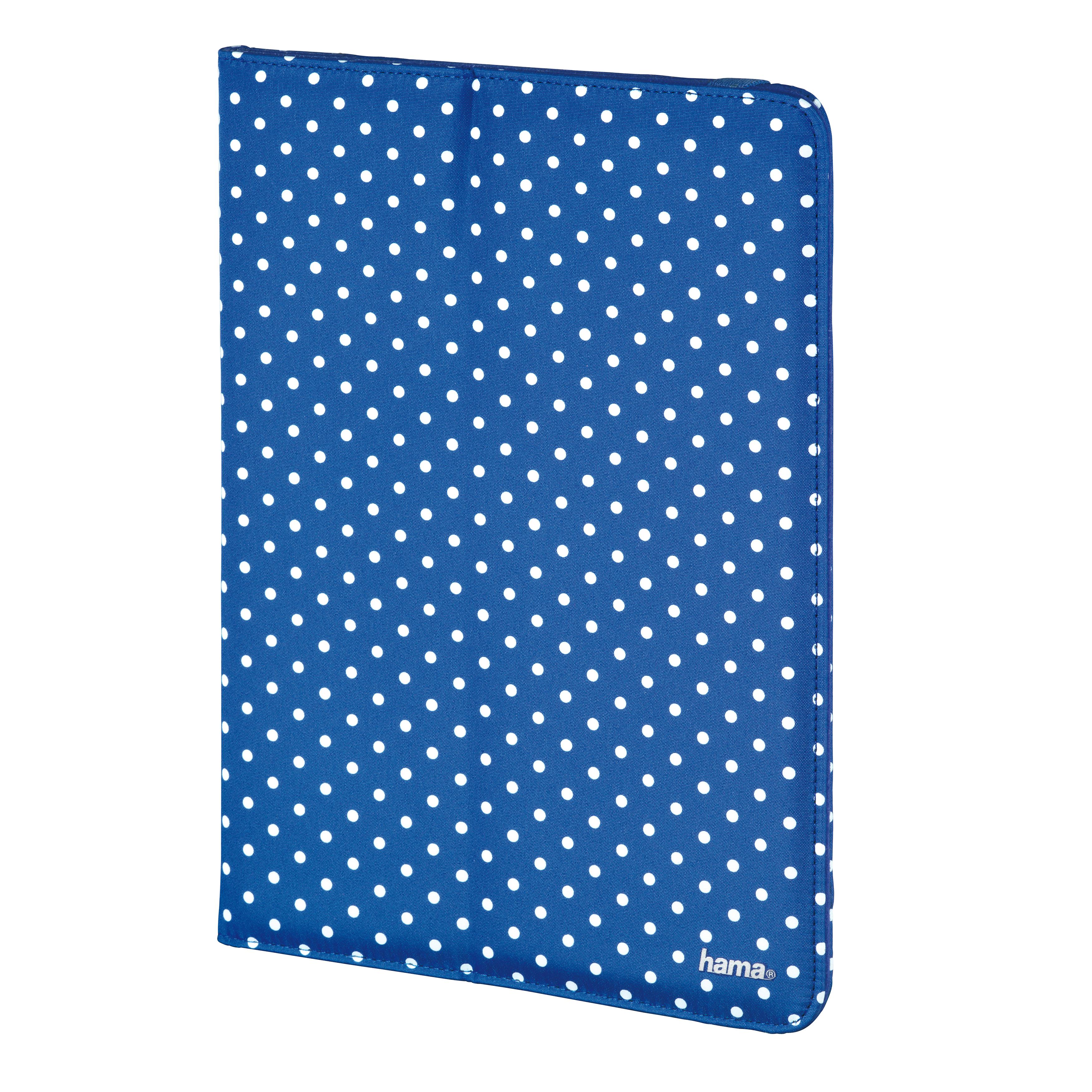 """Billede af HAMA Tablet Cover 9-10"""" Blå med prikker"""