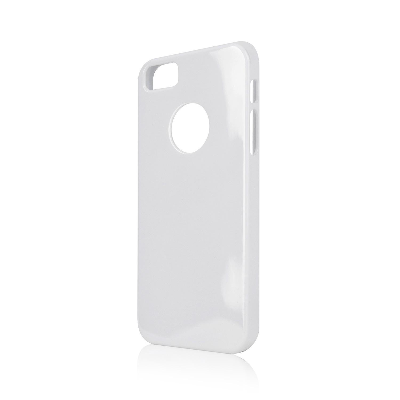 Billede af Xqisit Flex Cover til iPhone 5 / 5S / SE Hvid