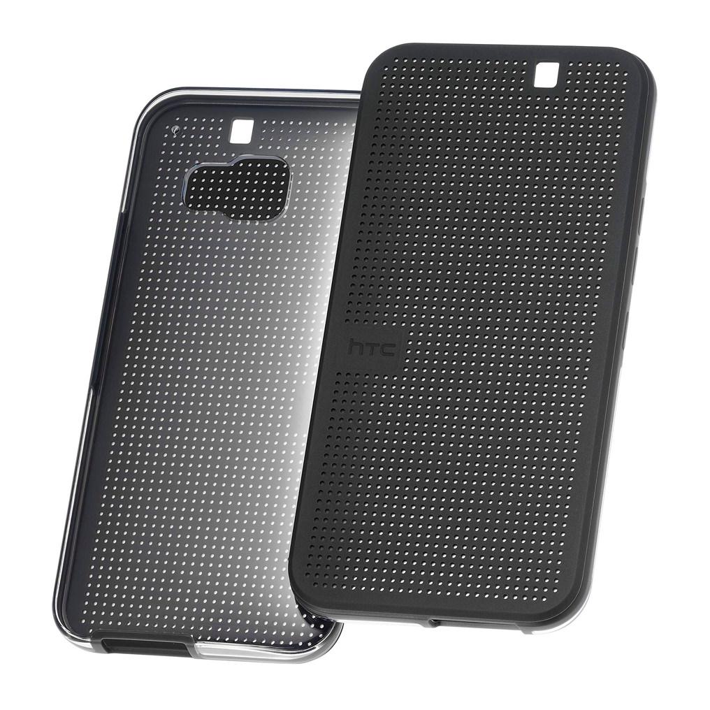 Billede af HTC Flip Case Dot View Ice HC M232 for HTC One M9 black