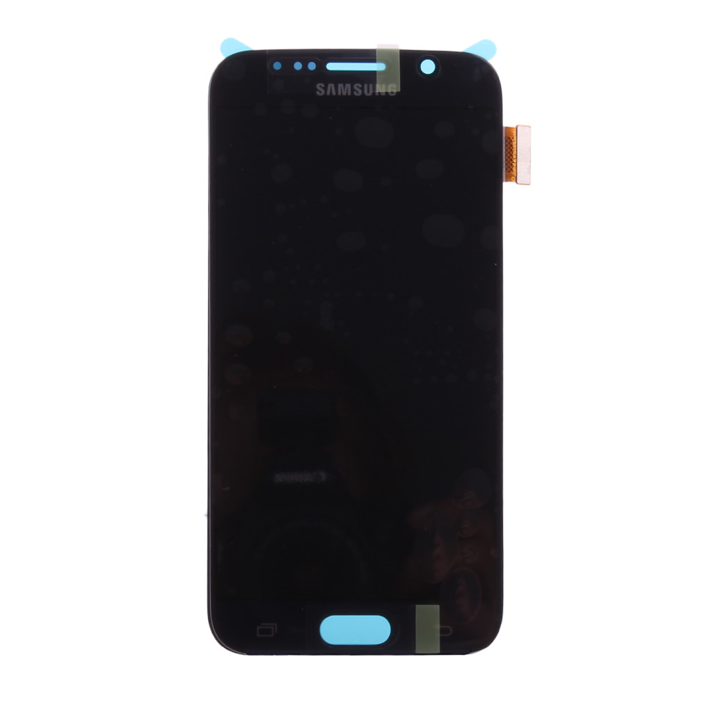 Billede af Original Spare Part Samsung - LCD Display + Touch Full Set - GH97-17260A - G920F Galaxy S6 - Black