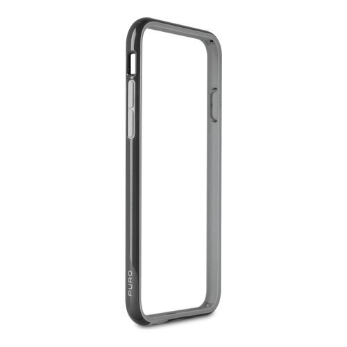 Billede af Puro Bumper til iPhone 6/6S med soft touch sort