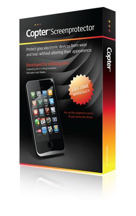 Billede af Copter Screenprotector til iPad 2/3/4