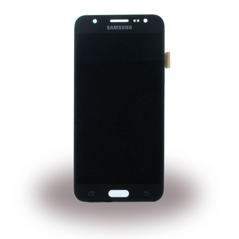 Billede af Original Spare Part Samsung GH97-17667B - LCD Display + Touch Full Set - J500H Galaxy J5 - Black