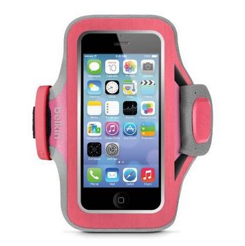Billede af iPhone 5/5S/5C/SE armbånd Belkin Slim-Fit Plus Fuschia