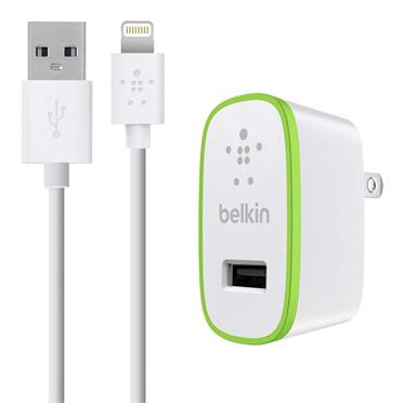 Billede af Belkin 2.4 Amp oplader med Apple Lightning stik