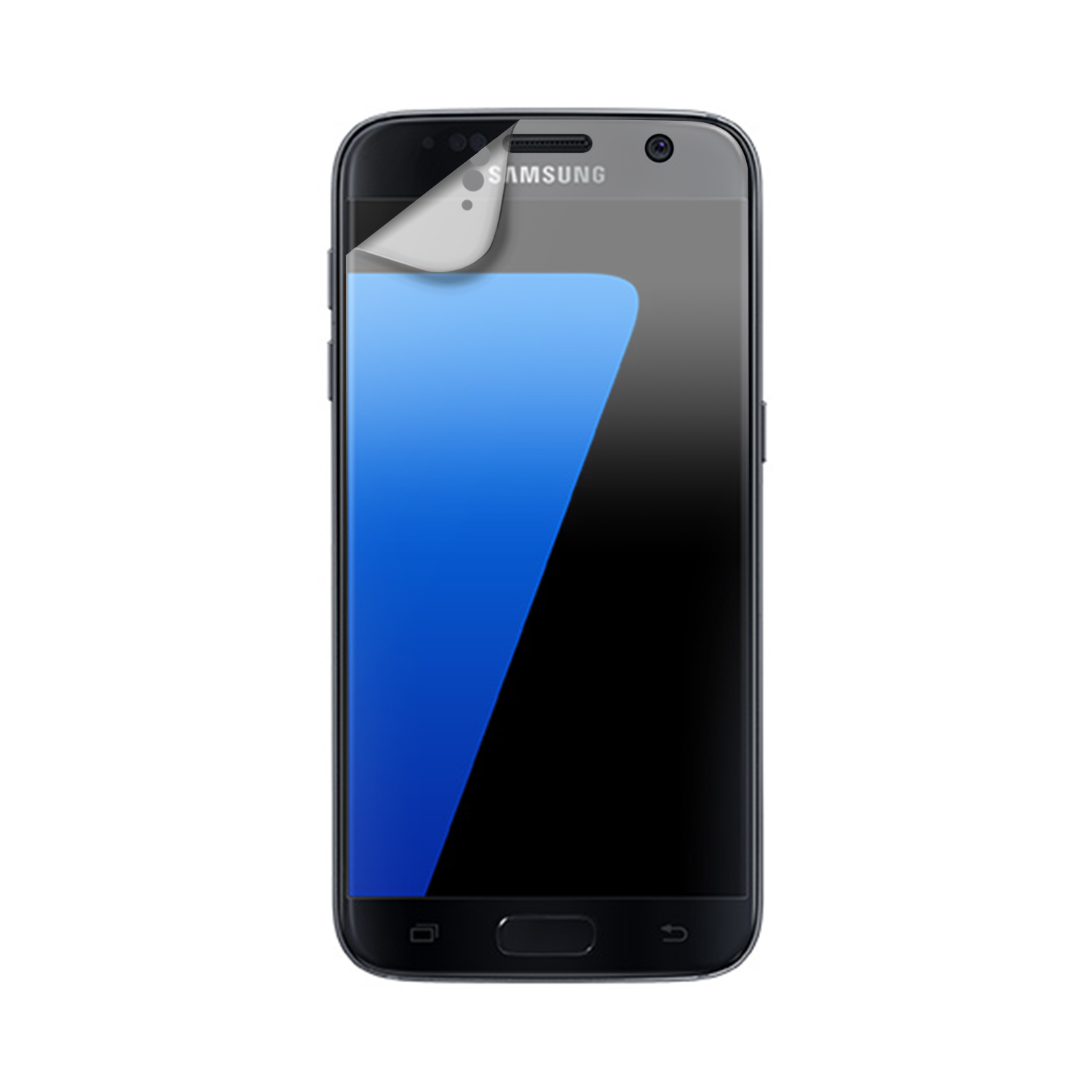 XQISIT Screen Protector AS 3pc for Galaxy S7 clear