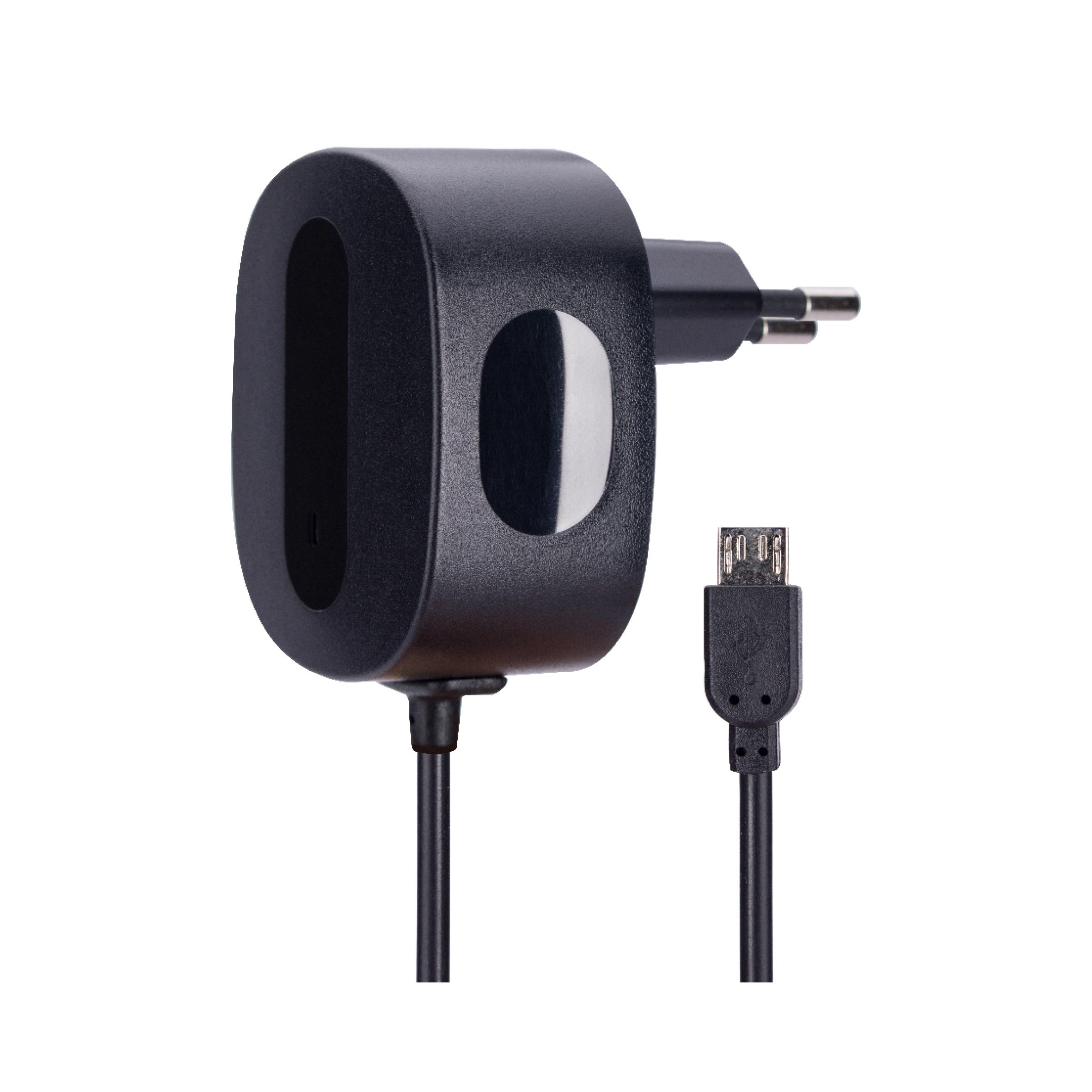Billede af AVO+ travel charger 1A MicroUSB - EU black