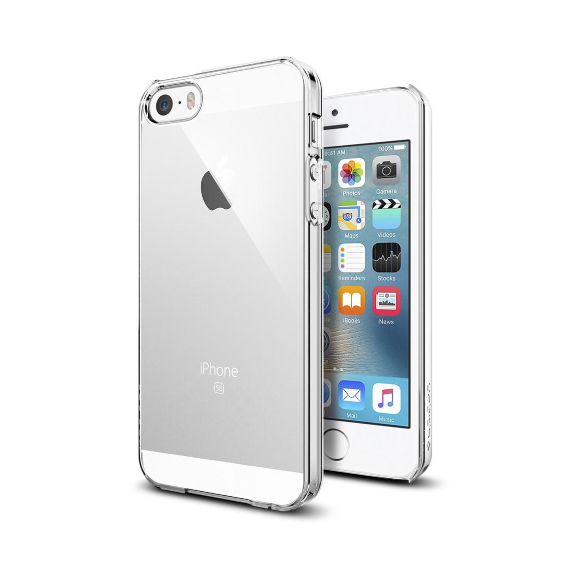 Billede af Spigen Thin Fit for iPhone 5/5S/SE clear/crystal clear