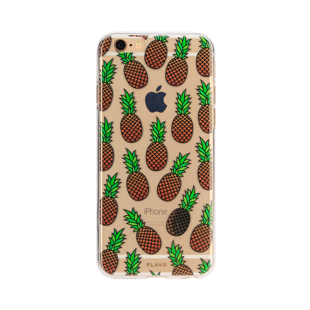 FLAVR iPlate Pineapples for iPhone 6/6s colourful
