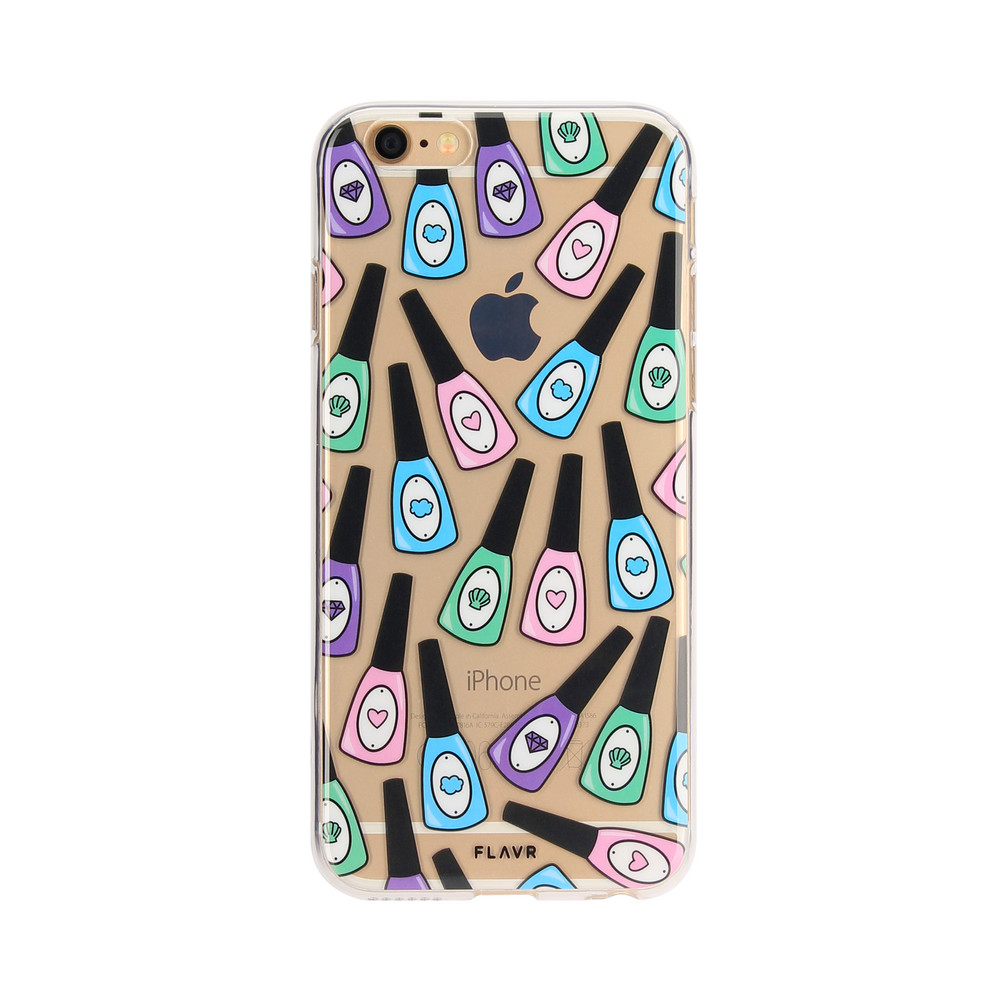 FLAVR iPlate Nail Polish for iPhone 6/6s colourful