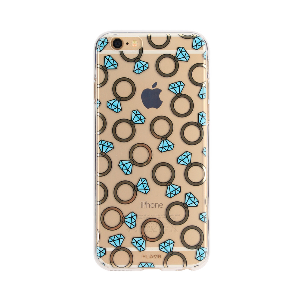 FLAVR iPlate Diamond Rings for iPhone 6/6s colourful