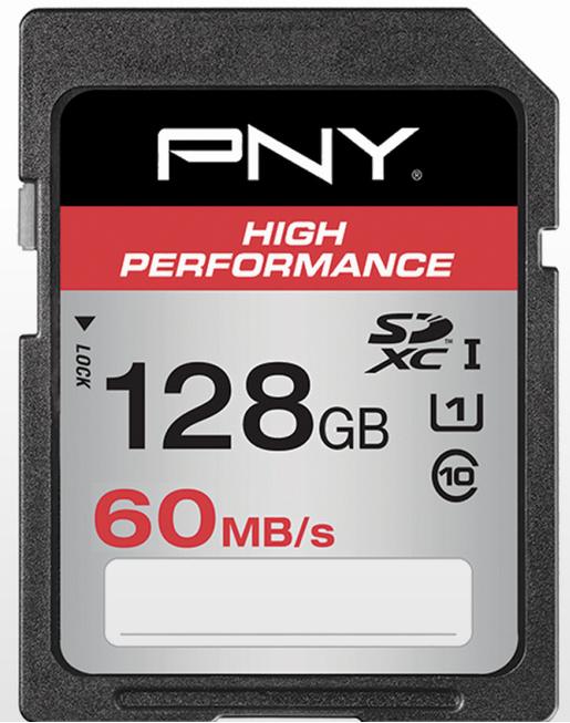 Billede af PNY SDXC 128GB High Performance