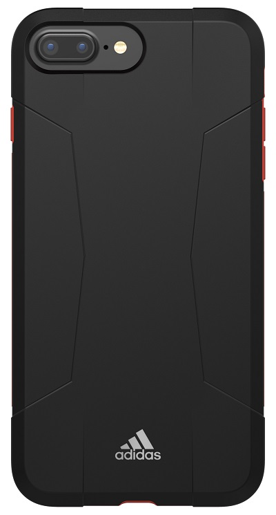 "Image of   Adidas SP Solo Case til iPhone 6/6S Plus og 7 Plus (5.5"") Sort / rød"