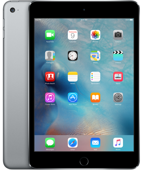 Image of   Apple iPad Mini 4 Wi-Fi 128GB Space Grey MK9N2KN/A