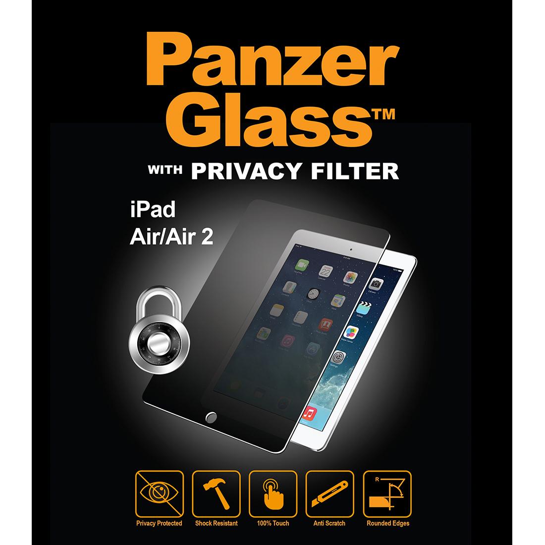 Billede af Panzer Glass Sikkerhedsglas med Privacy til iPad Air/Air 2