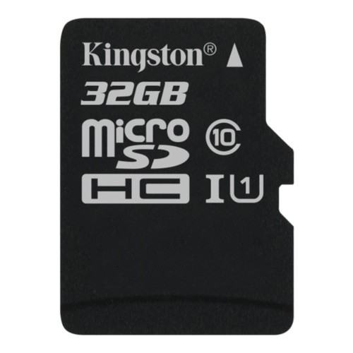Image of   32GB microSDHC 80R CL10 UHS-I Card w/o Adapter