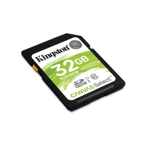 Image of   32GB SDHC Canvas Select 80R CL10 UHS-I