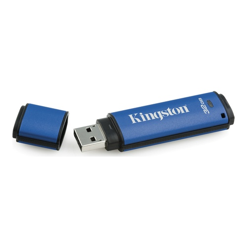 Image of   32GB USB 3.0 DTVP30 256bit AES Encrypted FIPS 197