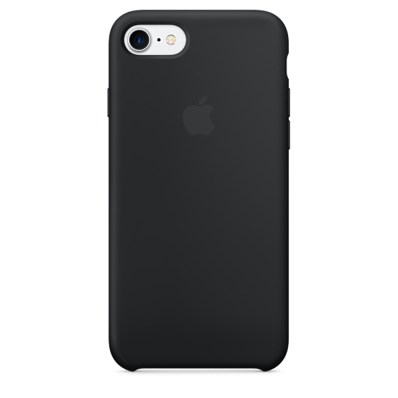 Apple iPhone 7 Silikone Cover Sort
