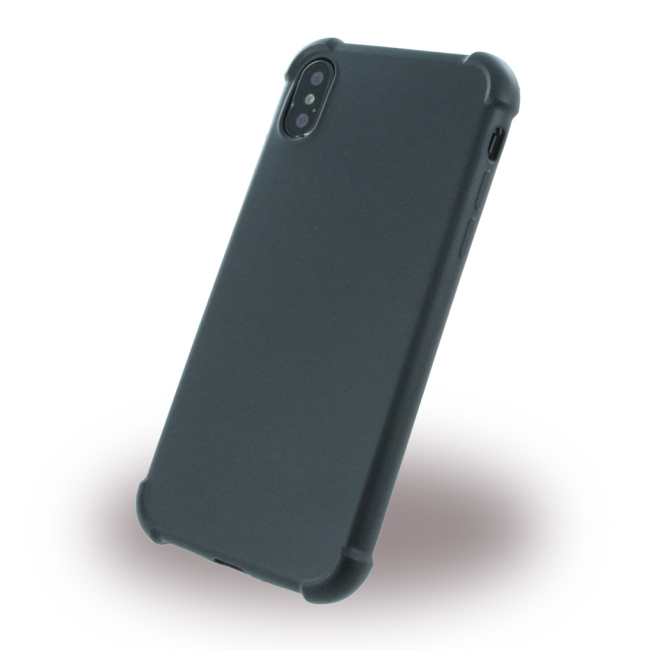 Image of   360 Degree - Protective Cover - Apple iPhone X - Black