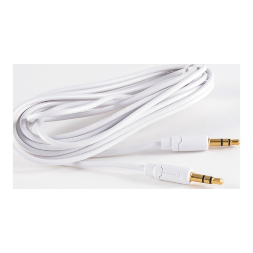 Billede af Minijack Cable 35mm Male - Male White Stereo 15m