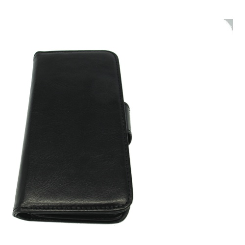 iPhone 5 / 5S cover med 6 kreditkortlommer Essentials MAX Wallet Sort