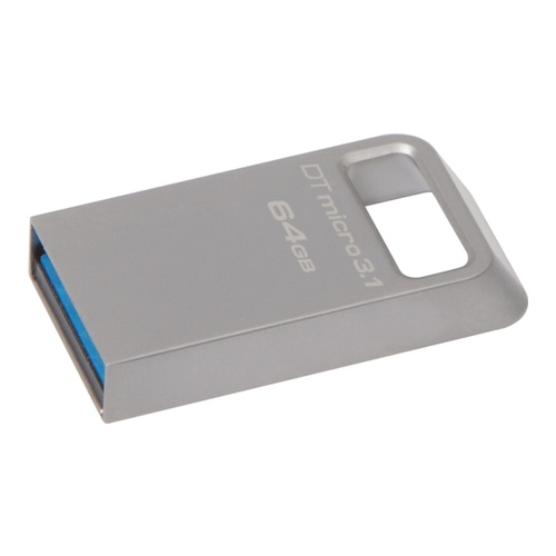 Image of   64GB USB 3.1/3.0 DT Micro ultrakompakt metal