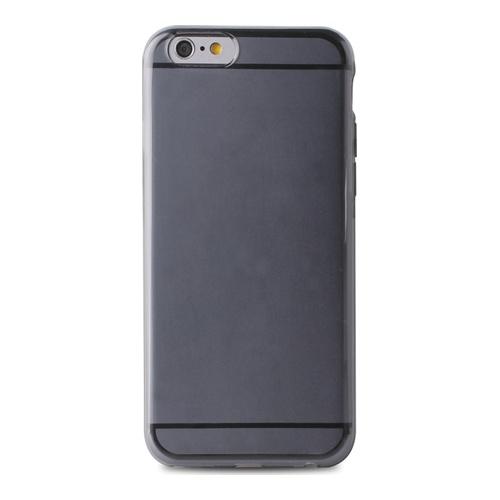 Billede af Puro Flexible Plasma Cover til iPhone 6/6S Sort/Grå