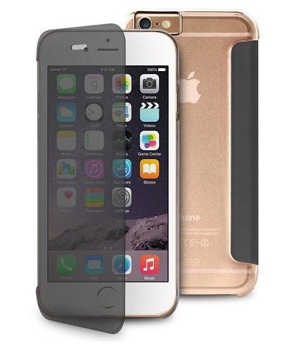 "Billede af Puro Sense flipcover til iPhone 6 Plus (5.5"") Quick View Booklet Transparent"