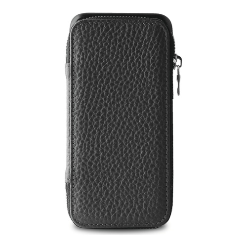Puro Business iPhone 6 Real leather Case magnetic Cover Grey