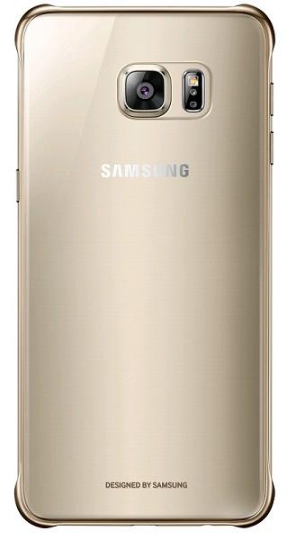Billede af Samsung Galaxy S6 Edge+ (Plus) Clear Cover Originalt Guld