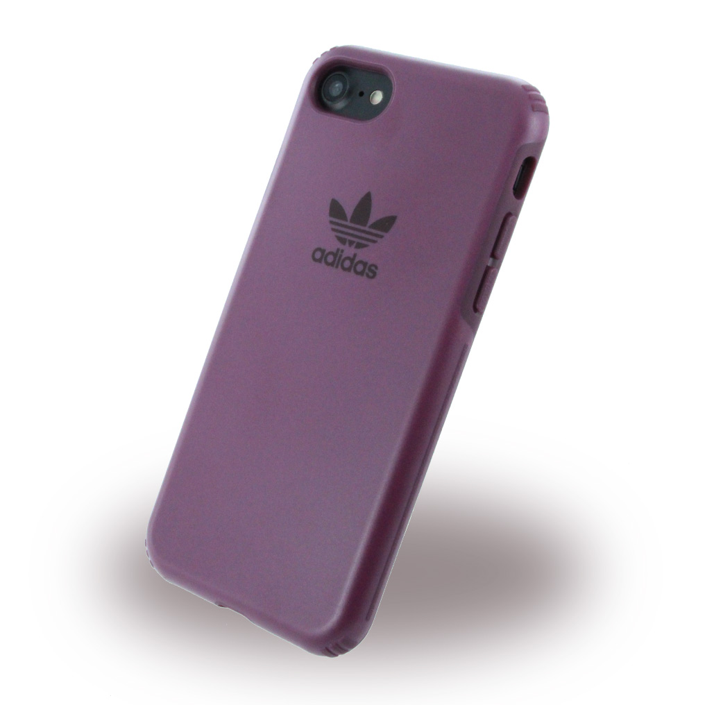 Image of   Adidas - Originals Dual Layer - Mobile Case / Hard Cover - Apple iPhone 7 - Maroon (Red)