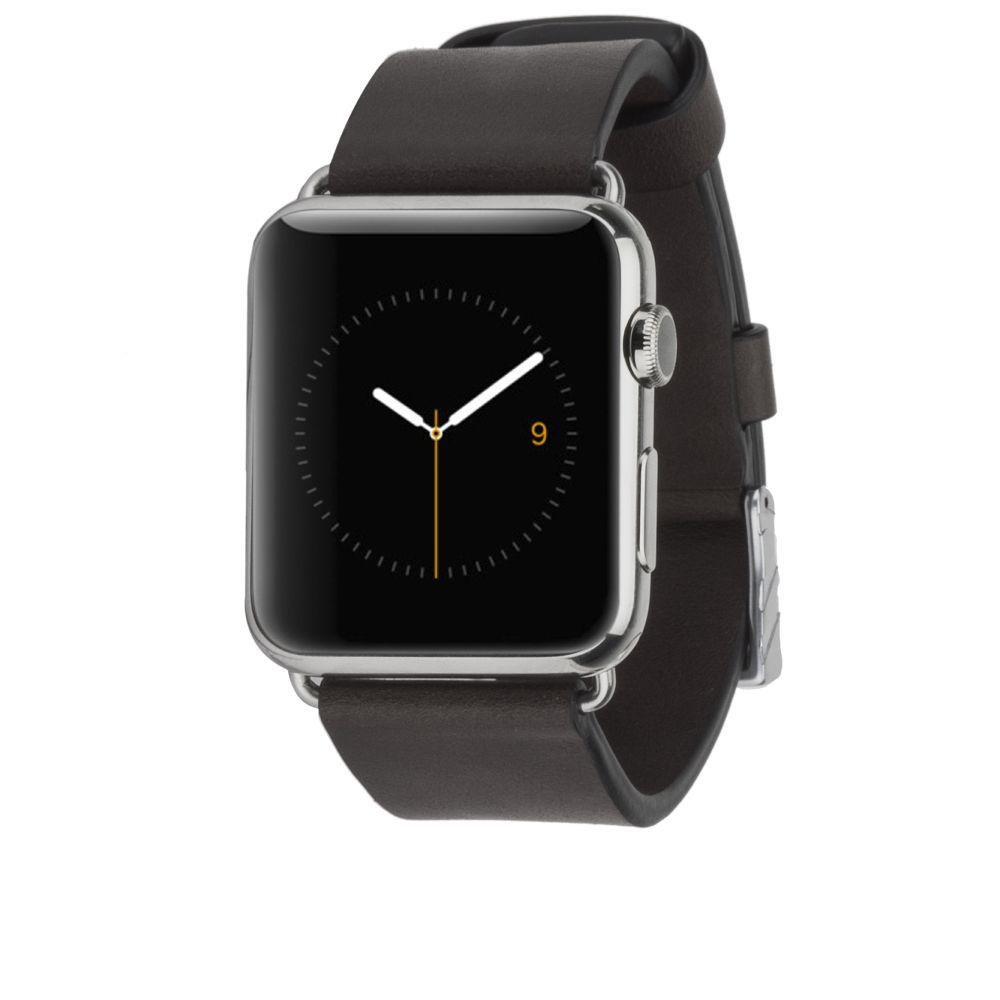 Billede af Case-Mate Signature Leather Strap for 42mm Apple Watch in Black