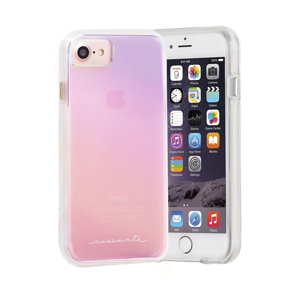Billede af Case-Mate Naked Tough Case for Apple iPhone 7/6s/6 in Iridescent