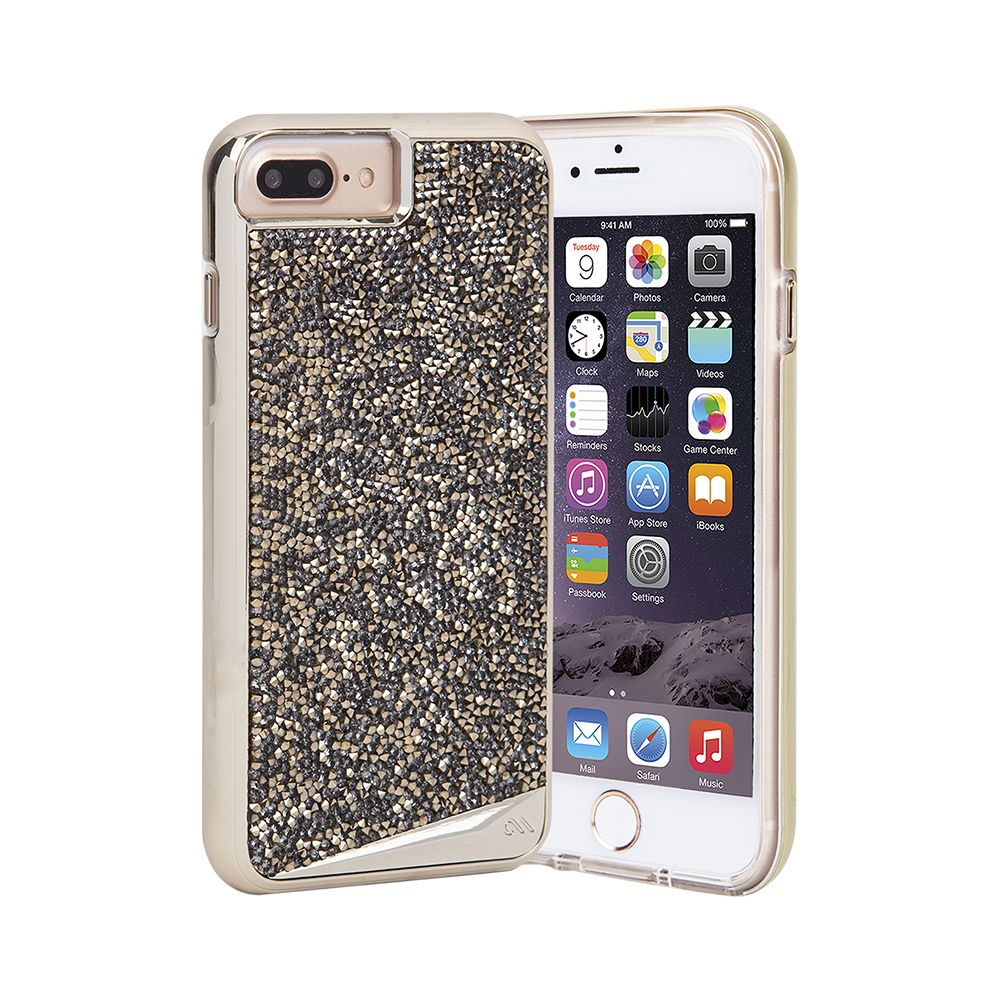 Case-Mate Brilliance Case for Apple iPhone 7/6s/6 Plus in Champagne