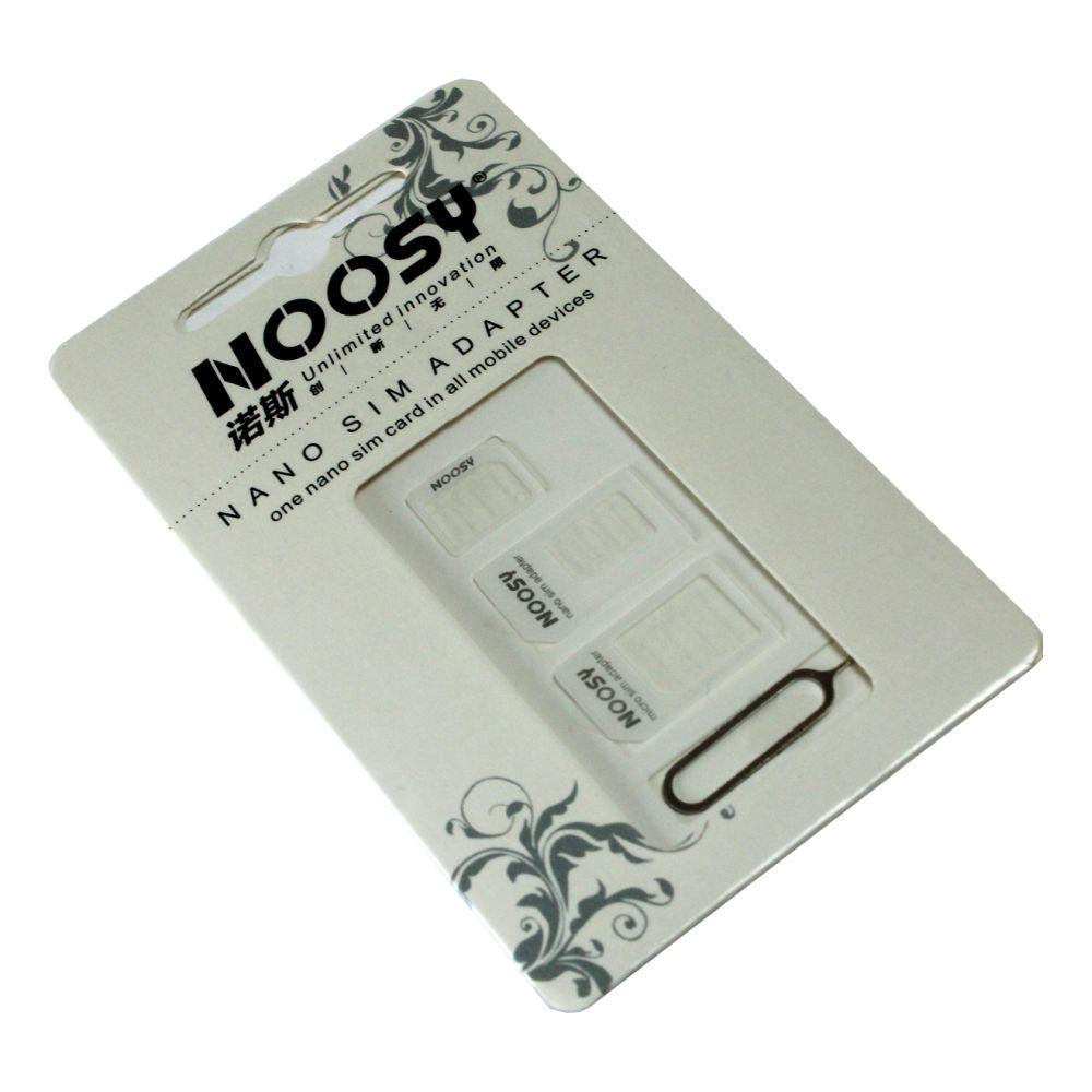 Image of   Noosy SIM Adapter Sæt 3stk