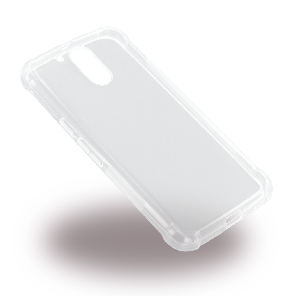 Billede af UreParts - Shockproof TPU Cover - Silicone Case / Phone Skin - Motorola G4 G4 Plus - Transparent Clear