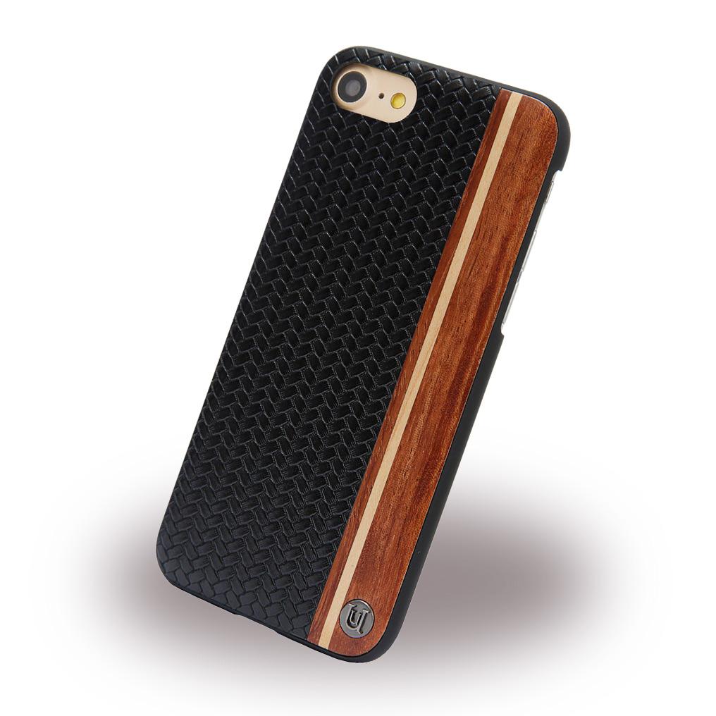 Uunique - Micro Weave UUFMIP7HS007 - Hard Cover - Apple iPhone 7 - Black