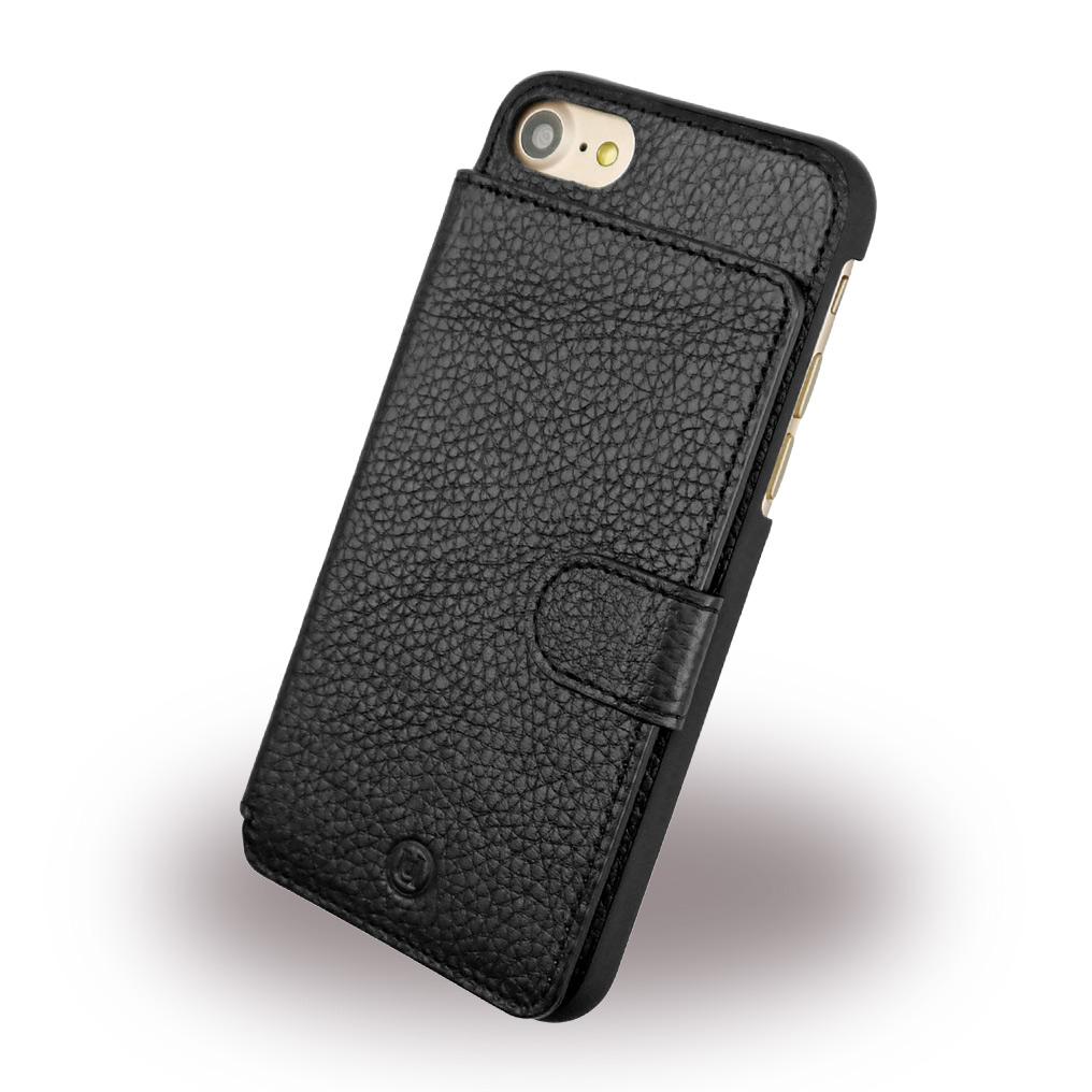 Uunique - Multi Pocker UUFMIP7HS013 - Leather Hard Cover - Apple iPhone 7 - Black