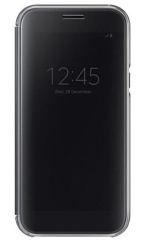 Billede af Originalt Samsung Galaxy A5 (2017) Clear View Flip Cover Sort