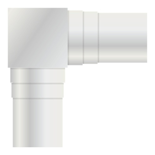 Image of   Adapter antenna connector angled male - female