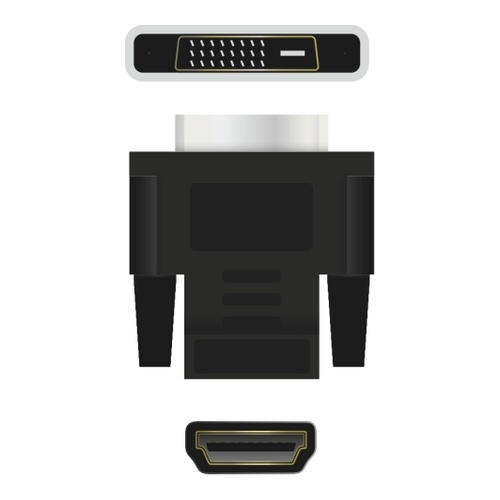 Image of   Adapter HDMI female - DVI-D 24+1 male