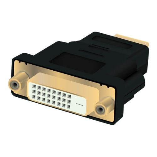 Image of   Adapter HDMI male - DVI-D 24+1 female